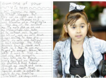 9 Year Old Writes Heartfelt Letter To Drunk Driver Who Paralyzed Her.