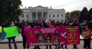 Women Stage Hunger Strike At The White House In Favor Of Immigration Reform