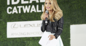 Model & Acid Attack Survivor Katie Piper Brings Confidence To The UK Runway