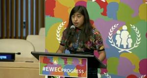15 Y/O Schools The UN On The Plight Of Guatemalan Girls' Education & Health