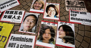 China Releases The Feminists Jailed For Protesting Sexual Harassment