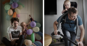 Swedish Photographer Shows Compelling Reasons For Paternity Leave In This Photo Series