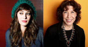 What Lily Tomlin & Lizzy Caplan Think About Women Unwilling To Identify As Feminists