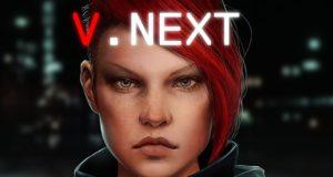 V.Next – An Episodic Cyberpunk Adventure Video Game Feat. A Female Criminal Hacker