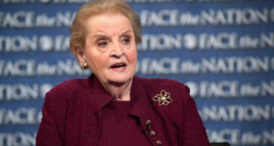 Madeleine Albright's Advice For Women: Listen, Raise Your Voice, Interrupt, Work Hard