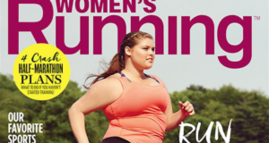 How Women's Running Mag Made A Bold Statement About Body Image With This Cover