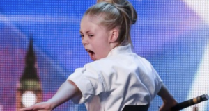 """Karate Kid Wonder Girl Jesse Jane McParland Proves """"Not All Girls Want To Be Princesses"""""""