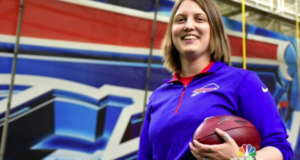 Buffalo Bills Hire Kathryn Smith As An Asst. Coach, Making Her The 1st Full-Time Female NFL Coach