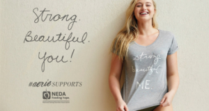 Aerie Lingerie Steps Up Its Body Positive Message With Eating Disorder Awareness Campaign