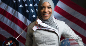 Ibtihaj Muhammad Will Be The 1st Team USA Athlete To Compete At The Olympics Wearing The Hijab