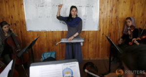 Threats Won't Stop This Teen Girl From Leading Afghanistan's 1st All-Female Orchestra