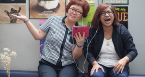 "Asia's Biggest All-Female Comedy Podcast Duo Talk Periods, Hecklers, & Being ""Unladylike"""