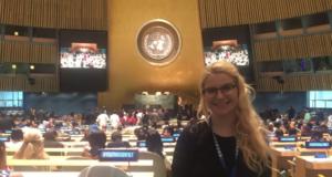 College Freshman Joins UN Program To Champion The Economic Empowerment Of Women
