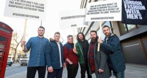 This Awesome Group Of Men Campaigned For More Diversity At London Fashion Week Mens