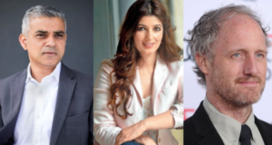 FEMINIST CONVERSATIONS: London Mayor Sadiq Khan, Indian Author Twinkle Khanna & Director Mike Mills