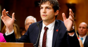 "Ashton Kutcher's Advocacy For Child Trafficking Victims Is More Than Just A Celebrity ""Getting Political"""
