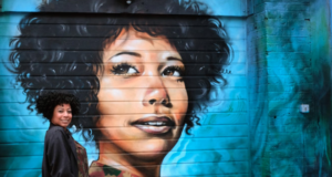 British-Ghanaian Artist Paints Murals Of Everyday, Inspirational Black Women Around London