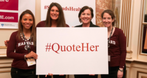 Harvard Doctor Launches #QuoteHer Campaign To Amplify Female Physicians In Healthcare Journalism