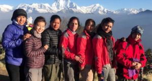 American Pro Snowboarder Making Docu About Pioneer Female Himalayan Guides From Nepal