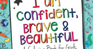New Coloring Book For Girls Created To Build Up Their Confidence, Imagination And Spirit