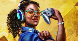 Cover of 'Women In Gaming: 100 Pioneers of Play' book by Meagan Marie