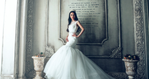 The Practical Bride: How To Make A Simple Dress Look Totally Badass