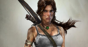 Lara Croft Tomb Raider video game character