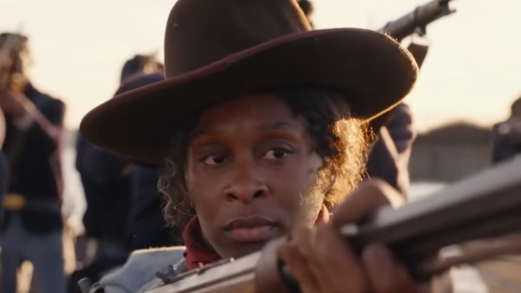 Still image of Cynthia Erivo who plays the title character in 'Harriet'. Trailer image via Youtube.