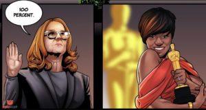 Comics & Gaming Website Creates Comic Strip Celebrating Real-Life Superwomen