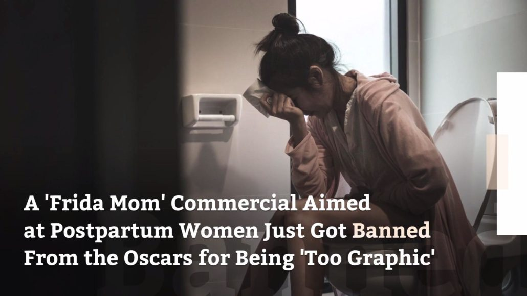 FEMINIST FRIDAY: This Commercial About The Reality Of Motherhood Was Banned During The Oscars