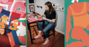 Happy Socks Collaborate With Artist Amber Vittoria To Promote Body Positivity In A Unique Way