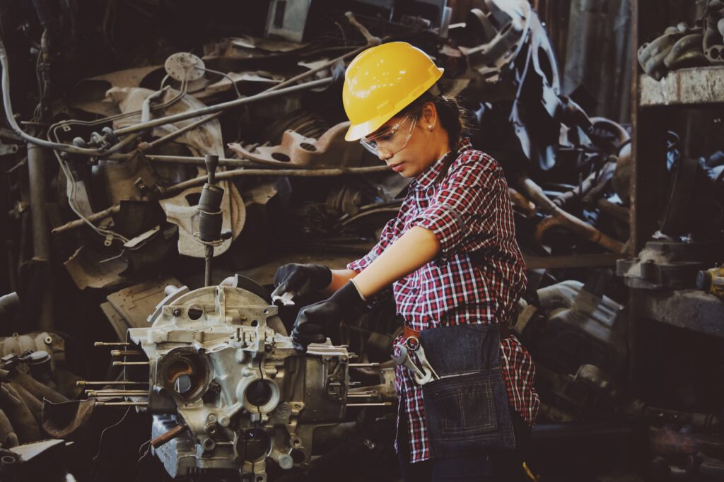 The Rise Of Women In Trade Industries